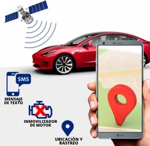GPS TRACKER + CORTA CORRIENTE + RASTREO