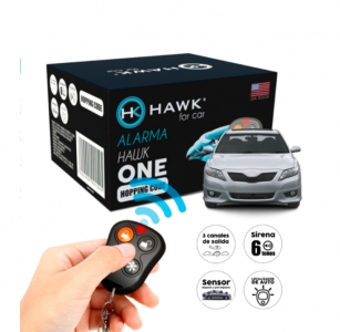 ALARMA HAWK CON CÓDIGO VARIABLE ANTI-COPIA