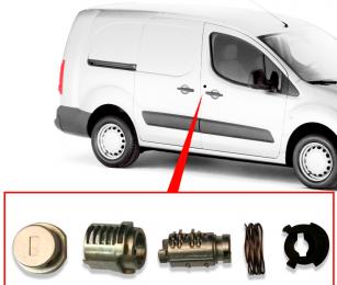 KIT REPARACIÓN CHAPA Puerta Citroen/ Peugeot año 2012 – 2018