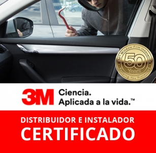 Láminas de Seguridad Tonalidades 3M – Vidrios Piloto y Copiloto INCOLORA