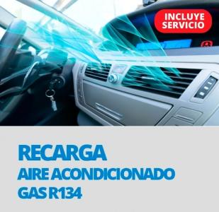 RECARGA AIRE ACONDICIONADO GAS R-134A