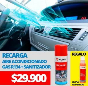 RECARGA Aire Acondicionado y sanitizador + REGALO