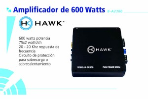 Amplificador Hawk